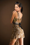 Sexy Asian beauty posed. Royalty Free Stock Photo