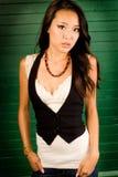 asian brunette Stock Image