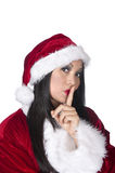 Sexy Asian Santa Royalty Free Stock Photography