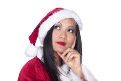 Sexy Asian Santa Stock Photos