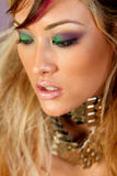 asian woman in makeup Royalty Free Stock Photo