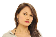 Sexy Asian woman portrait Stock Photos