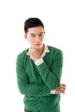Sexy Asian young man Royalty Free Stock Image