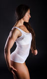 Sexy athletic woman Stock Photo