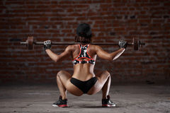 Sexy athletic woman Royalty Free Stock Photo