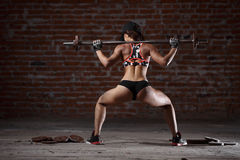 Sexy athletic woman Stock Image