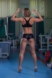 Sexy athletische Blondine Lizenzfreies Stockbild