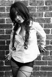Sexy Aziatisch meisje Stock Afbeeldingen