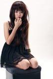 Sexy Aziatisch meisje Royalty-vrije Stock Foto's