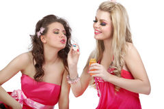 Barbie Girls in pink Stock Photography