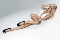 Sexy beautiful blonde woman Royalty Free Stock Photo