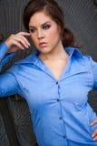 beautiful brunete business woman girl lady adult female wea Stock Photo