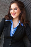 beautiful brunete business woman girl lady adult female wea Stock Photography