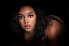 Sexy beautiful brunette woman Stock Photo
