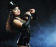 beautiful police woman Royalty Free Stock Image