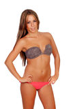 Sexy and beautiful woman with bikini Royalty Free Stock Photography