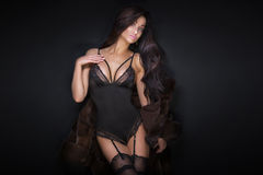 Sexy beautiful woman posing. Stock Image