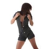 Sexy, beautiful, young woman dancing Stock Photo