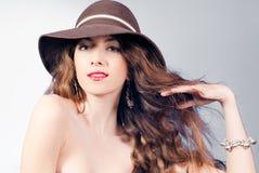 Sexy Beautiful Young Woman posing Stock Image