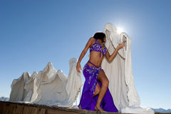 Sexy bellydancer Royalty Free Stock Photography