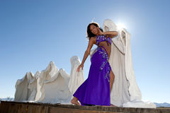 Sexy bellydancer Royalty Free Stock Images