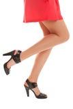 Sexy benen stock afbeelding
