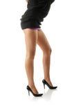 Sexy benen royalty-vrije stock afbeeldingen