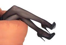 Sexy benen Royalty-vrije Stock Fotografie