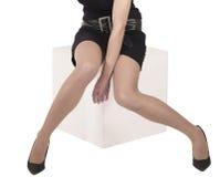 Sexy benen Stock Foto