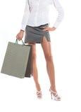 Sexy benen van een vrouw Royalty-vrije Stock Foto's