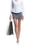 Sexy benen van een vrouw Stock Fotografie