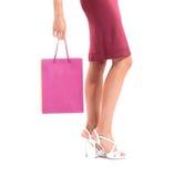 Sexy benen van een vrouw Royalty-vrije Stock Foto