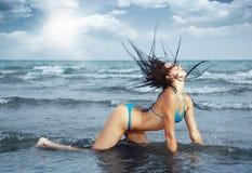 Sexy in bikini Stock Image