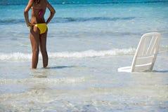 Sexy bikini Stock Images