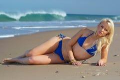 Sexy bikini girl Royalty Free Stock Images