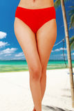 Sexy Bikini girl on beach Royalty Free Stock Image