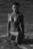 Sexy Bikini girl looks sexy Stock Image