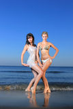 Sexy bikini model Stock Images
