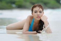 Sexy bikini model Stock Image