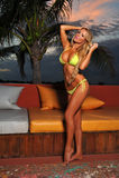 bikini model posing pretty outside Royalty Free Stock Images