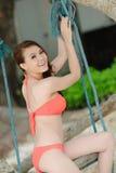 Sexy bikinimodel Royalty-vrije Stock Afbeelding