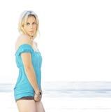 Sexy blond Stock Image