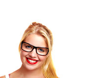 blond girl Royalty Free Stock Image