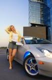 blond meisje Stock Foto