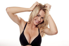 Sexy blond woman. Royalty Free Stock Photos