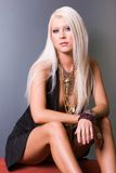 Sexy blond woman Royalty Free Stock Photos