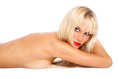 Sexy blonde Royalty Free Stock Photography