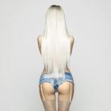 Sexy blonde Stock Fotografie