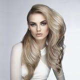 Sexy blonde Royalty-vrije Stock Afbeeldingen