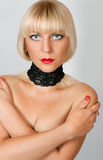 Sexy blonde Royalty Free Stock Image